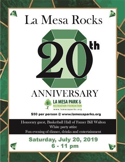 La Mesa Rocks flyer