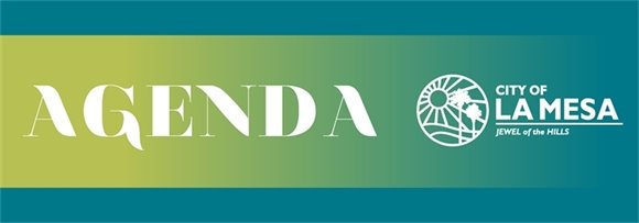 City of La Mesa Agenda