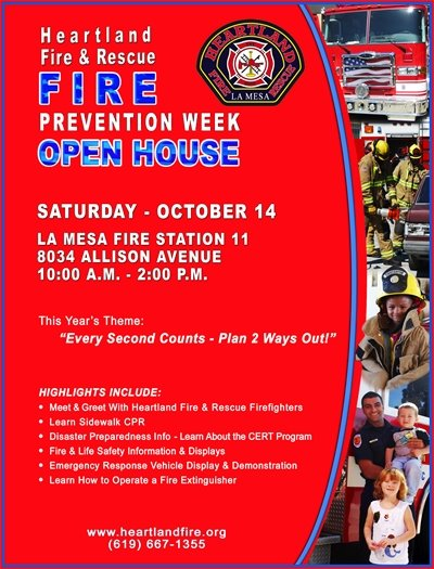 Fire Prevention Open House