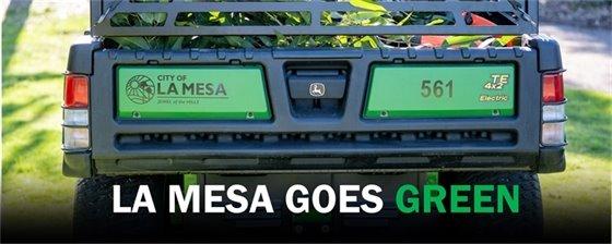 La Mesa Goes Green