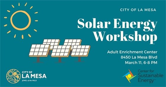 Solar Energy Workshop