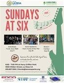 Sundays at six flyer