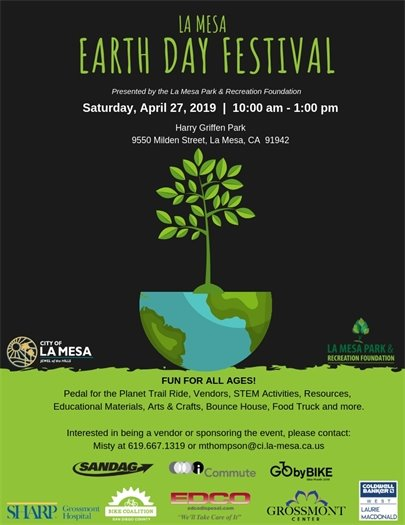 Earth Day Festival flyer