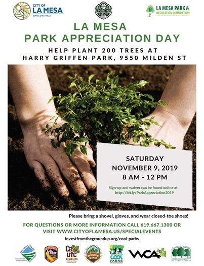 Park Appreciation Flyer