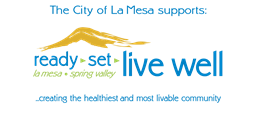 The City of La Mesa Supports Live Well