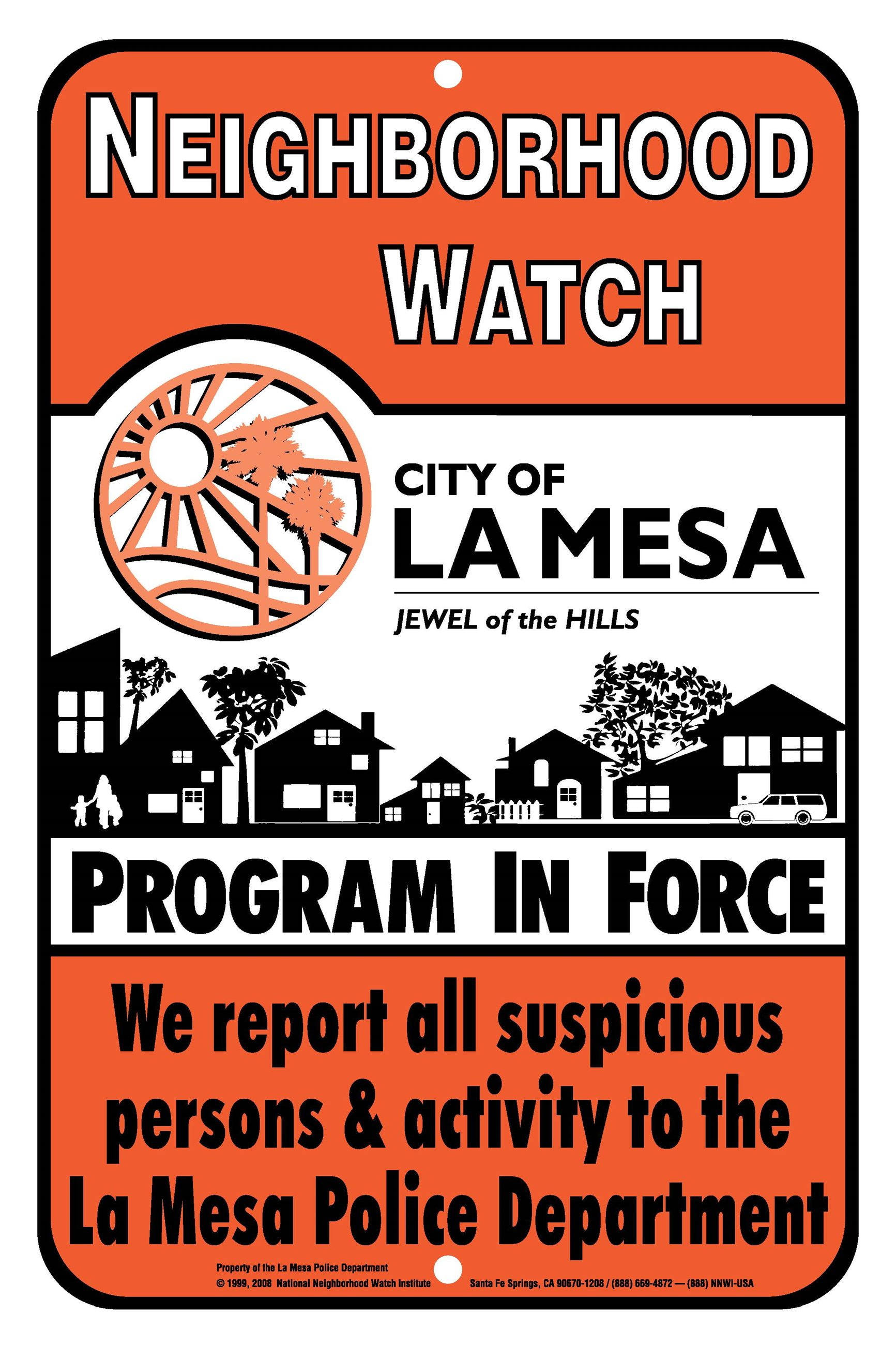 Neigh Watch La Mesa